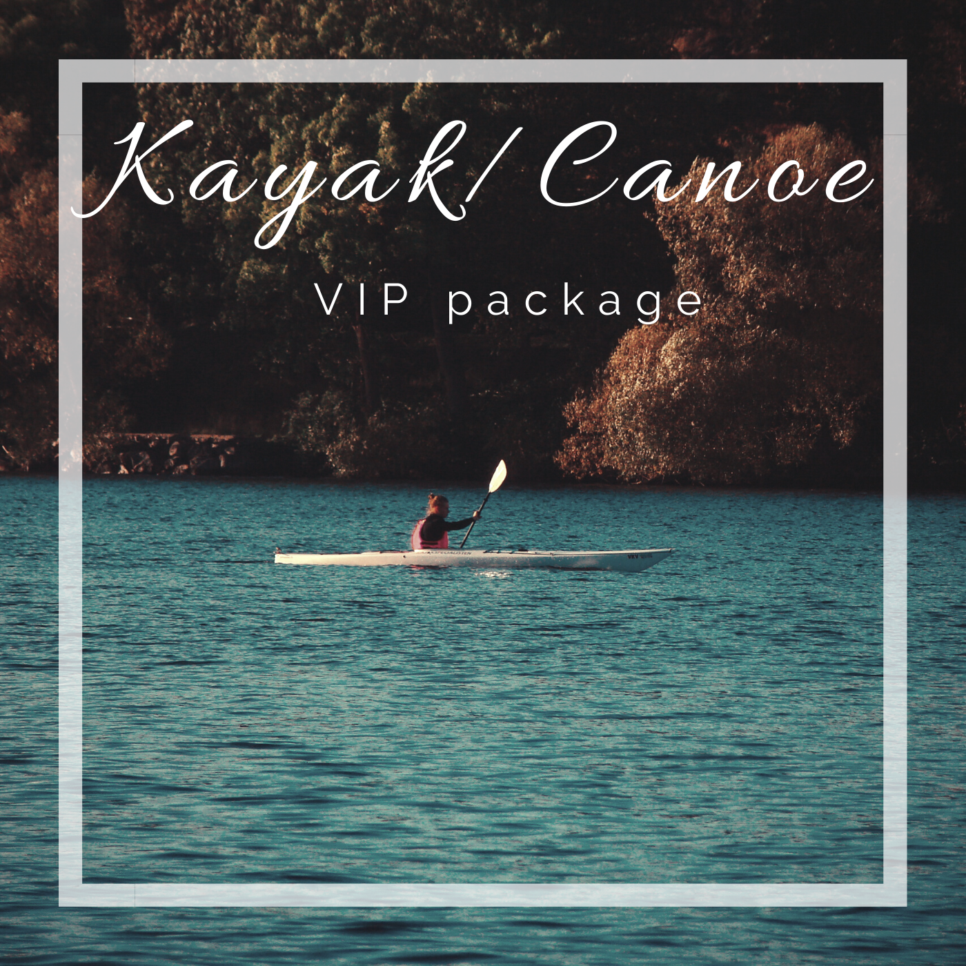 Happy Camper Adventures VIP Kayak/Canoe package