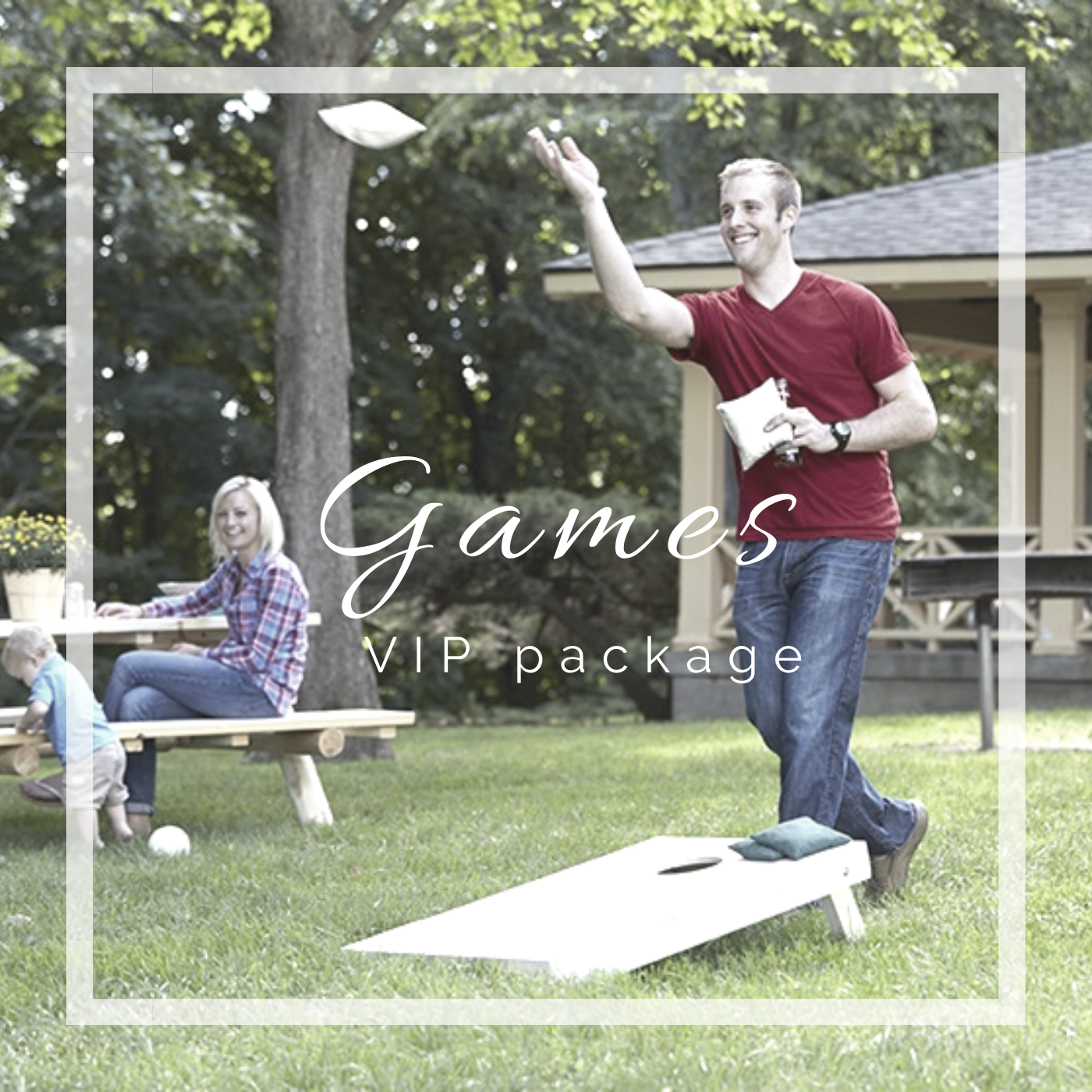 Happy Camper Adventures VIP Games package