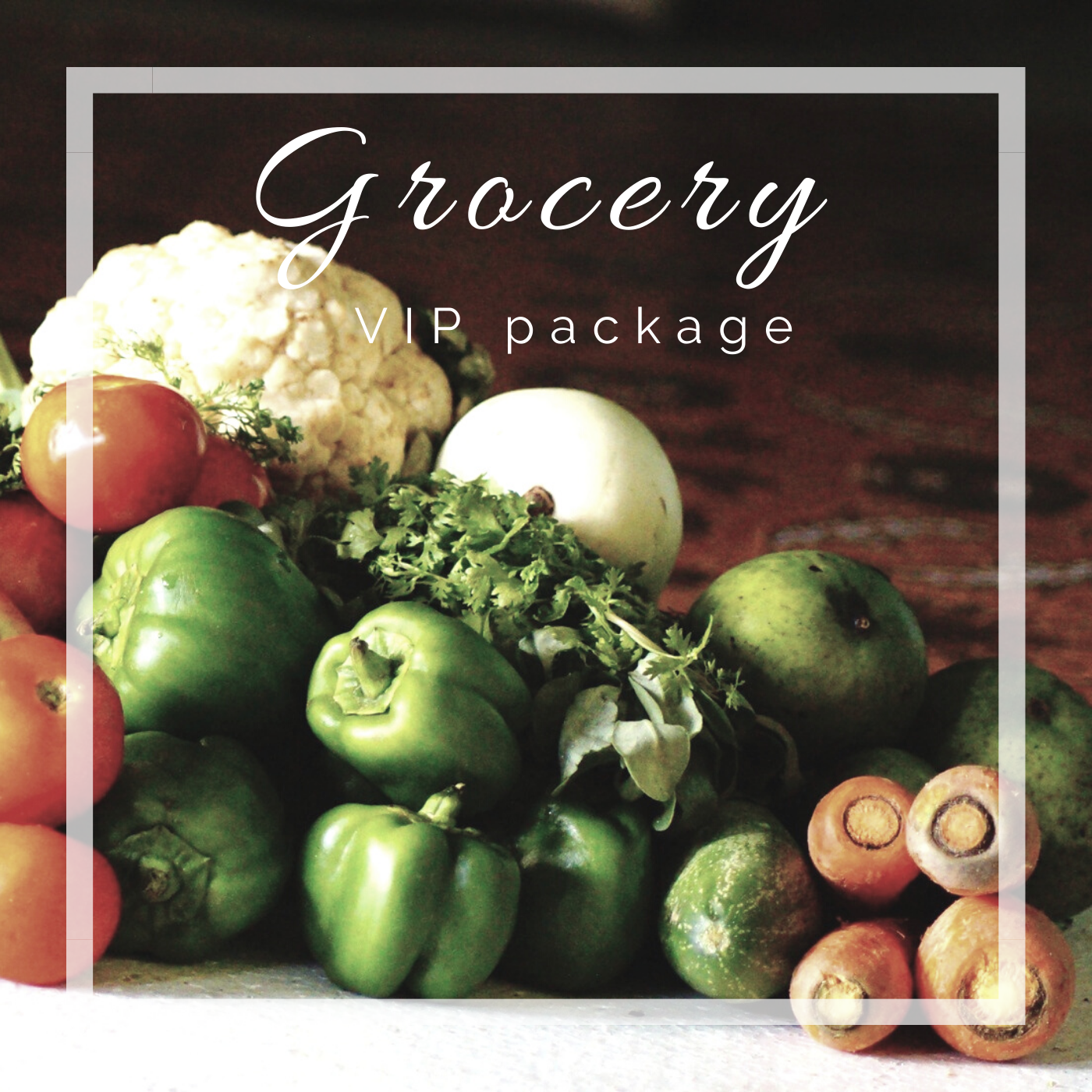 Happy Camper Adventures VIP grocery package
